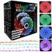 GAME MAX Windforce RGB KIT - 2x 120mm Fans & LED Strips